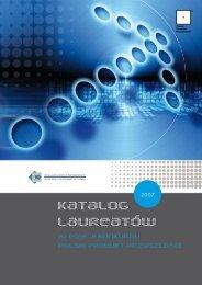 Katalog laureatów XI edycji Konkursu - Portal Innowacji
