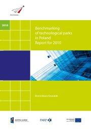 Benchmarking of technological parks in Poland ... - Portal Innowacji
