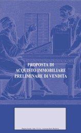 Proposta di acquisto immobiliare - CCIAA di Pordenone - Camere di ...