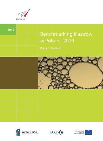 Benchmarking klastrów w Polsce – 2010, Raport z badania
