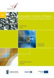 Innovation Centers in Poland - Portal Innowacji