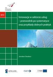 Innowacje w sektorze usług – przewodnik po ... - Portal Innowacji