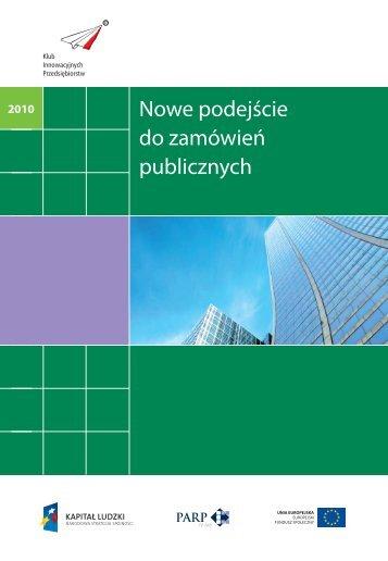 Nowe podejście do zamówień publicznych - Ecorys