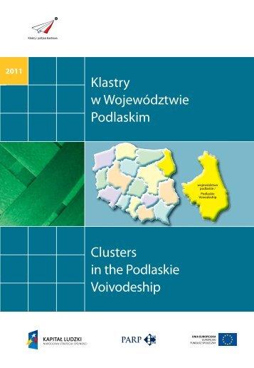 Klastry w Województwie Podlaskim Clusters in the ... - Portal Innowacji