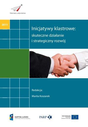 Inicjatywy klastrowe: skuteczne działanie i strategiczny rozwój (pdf)