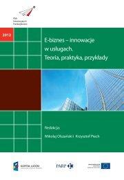 E-biznes – innowacje w usługach. Teoria ... - Portal Innowacji