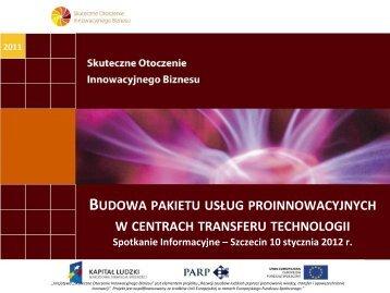 prezentacją - Portal Innowacji