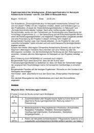 Protokoll der Sitzung 05.06.2008 - Naturpark Holsteinische Schweiz