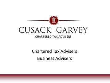 Chartered Tax Advisers Business Advisers
