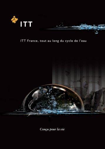 ITT France - Conférence de presse du 22 janvier - Profluid