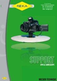 Téléchargez notre fiche produit support APN