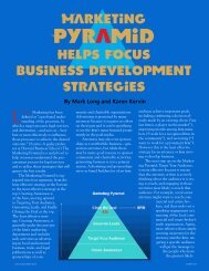 Marketing Helps Focus Business Development Strategies