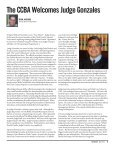 CCBA Welcomes Judge Gonzales - Page 5
