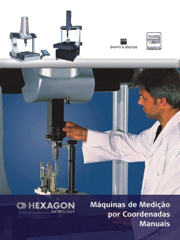 Máquinas de Medição por Coordenadas Manuais - Logo do Radar ...