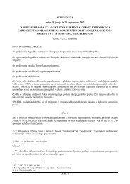 o spremembah akta o volitvah predstavnikov evropskega ...