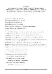 pogodba, ki spreminja nekatere proračunske določbe pogodb o ...