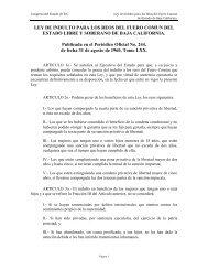 LEY DE INDULTO PARA LOS REOS DEL FUERO COMUN ... - Tijuana