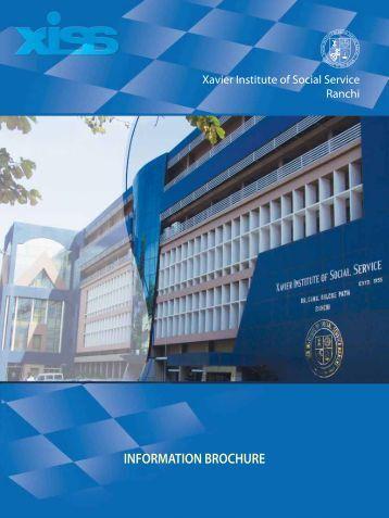 PGDM - Xavier Institute of Social Service