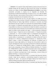 1 - - - ACTA 65.- En la ciudad de Tijuana, Baja California, siendo las ...