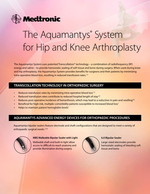 hip and knee sell sheet.pdf - Medel