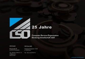 Training - CSO GmbH, Wiesbaden