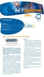Édito - UIMM Drôme Ardèche