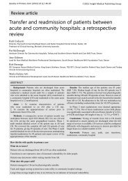 transfer-and-readmission-of-patients-between-acute-and-community-hospitals-a-retrospective-review
