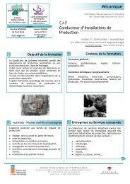 CAP CIP - UIMM Drôme Ardèche