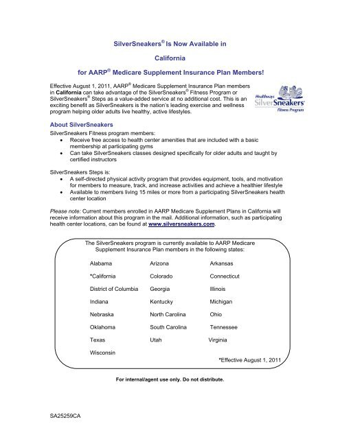 united healthcare medicare supplement gym membership