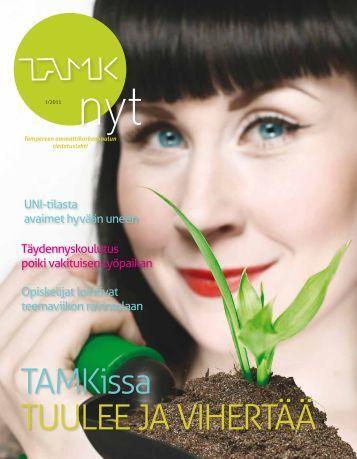 TAMK.nyt 1/2011 - Tampereen ammattikorkeakoulu