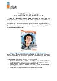 Voir le communiqué de presse - UIMM Drôme Ardèche