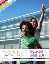 TAMK, Tampere University of Applied Sciences