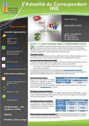 Lire le bulletin de décembre 2012 - UIMM Drôme Ardèche