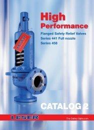 Catalog High Performance 2 - LESER
