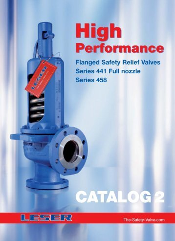 Catalog High Performance 2 - LESER