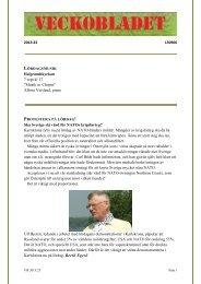 "2013:23 130906 Helgeandskyrkan 7 sept kl 17 ""Musik ... - Veckobladet"