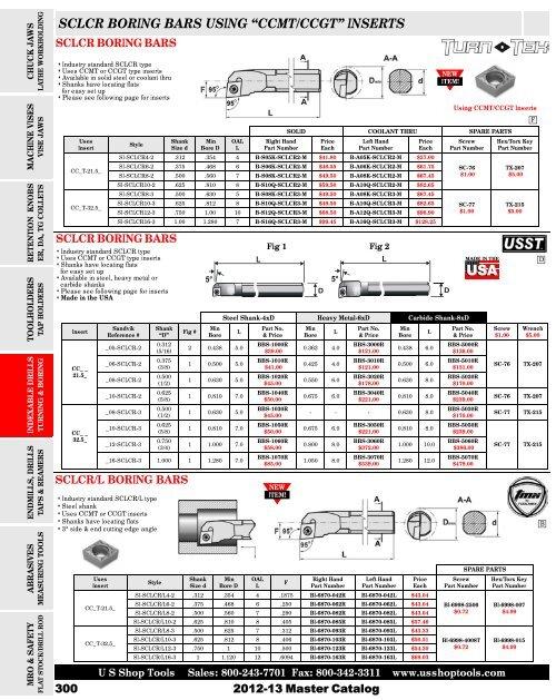 Indexable Boring Bar 1//2 Shank,OSCARBIDE 1//2 x 7 Overall Length Right-Hand Sclcr Boring Bar with Carbide Insert CCMT09T304 CCMT32.5 ,1 Piece