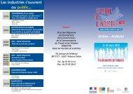 Les industries s'ouvrent au public... - UIMM Drôme Ardèche
