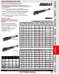 SOWA 119764 M12 X 1.75 D6 HSSE-V3 SPIRAL POINT PLUG TAP