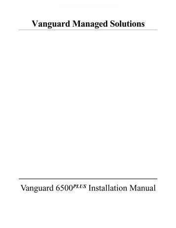 advisory notice vanguard networks. Black Bedroom Furniture Sets. Home Design Ideas