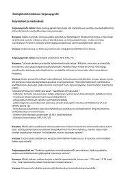 Deduplikointiratkaisun tarjouspyyntö Kysymykset ja vastaukset:
