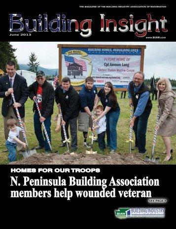 June BI 2013 - Building Industry Association of Washington