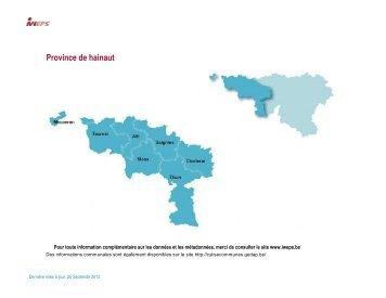 Province de Hainaut (5) - IWEPS