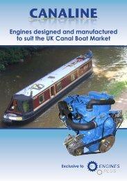 Canaline Engine Range brochure - Engines Plus