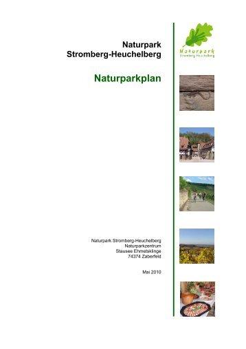 Naturparkplan - Naturpark Stromberg-Heuchelberg