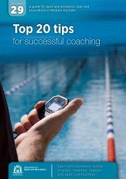 Top 20 Tips for Coaches - ClubsOnline