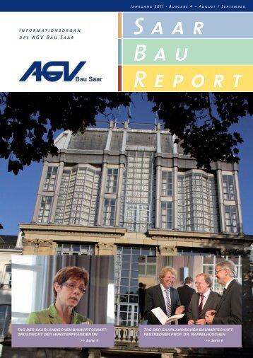 Saar Bau Report - AGV Bau Saar