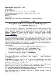 POKYN DĚKANA č. 6/2013 - Vysoké učení technické v Brně