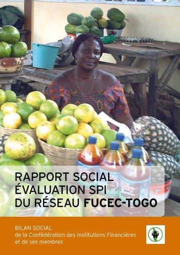 RappoRt social évaluation spi du Réseau fucec-TOGO - Cerise
