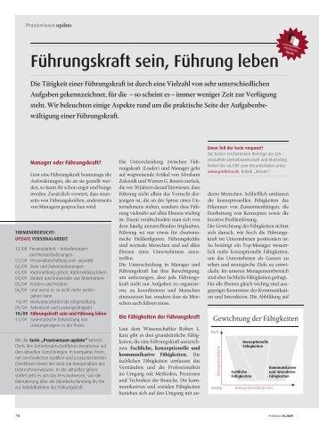 Führungskraft sein, Führung leben - Goldpark GmbH ...